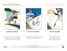 2018 Immaculate Baseball
