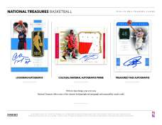 2018-19 National Treasures Basketball