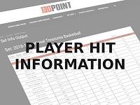 Player Hit Information