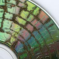 CD damaged