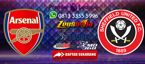 Prediksi Bola Arsenal Vs Sheffield United 18 Januari 2020
