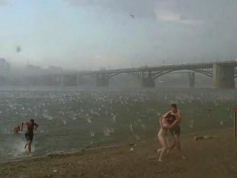 Freak Hailstorm hits Siberia, kills two - News Radio KMAN