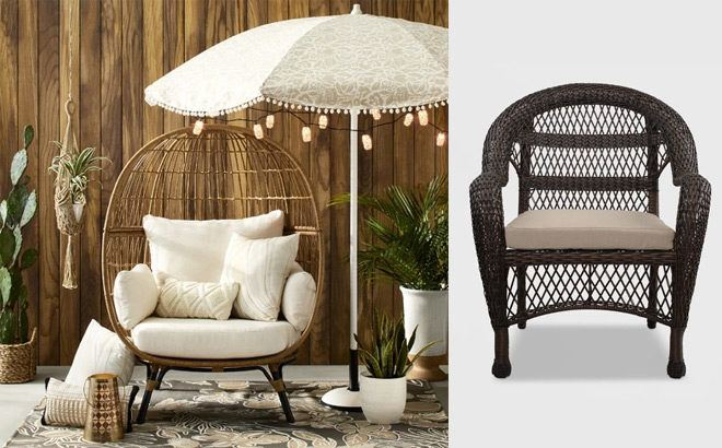 up to 40 off patio furniture at target com
