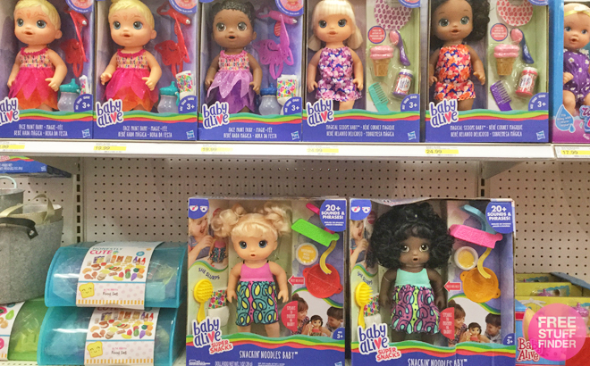 Baby Alive Dolls Only 14 62 Free Shipping At Target Reg 45 Today Only
