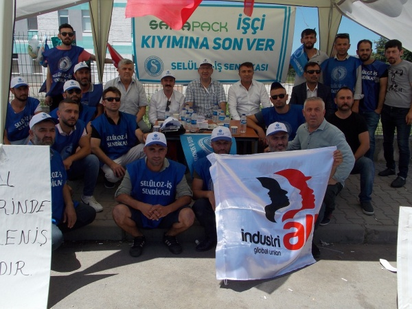 1564058355 977 Union picket at Spanish packaging company in Turkey enters ninth