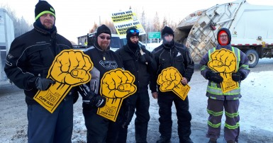 Locked out CUPE members in New Brunswick need our help