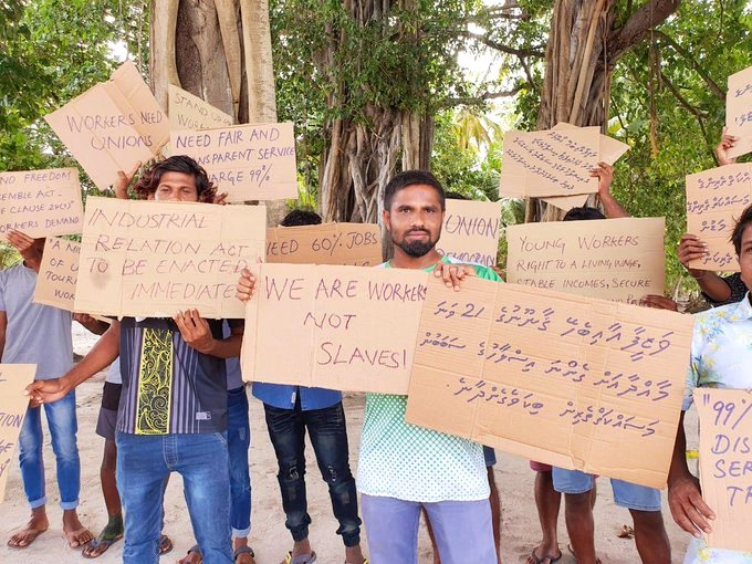 Maldives TEAM leads fight to stop new attacks on employment