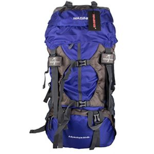 Wasing 55L Hiking Backpack lightblue