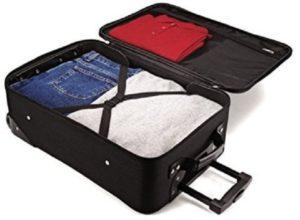 American Tourister Luggage Fieldbrook II 4 Piece Set Open