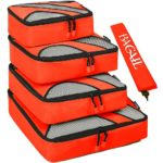 Bagail 4 Piece Packing Cubes