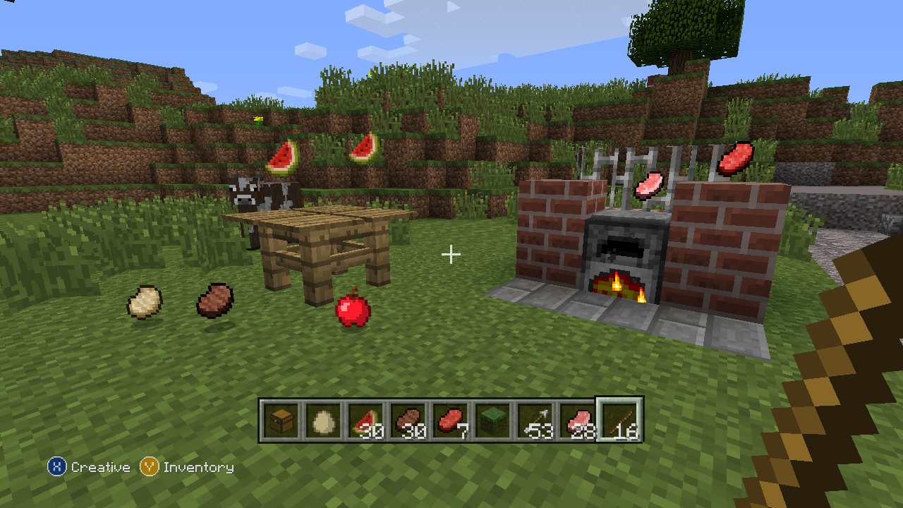 How To Make Food In Minecraft Xbox