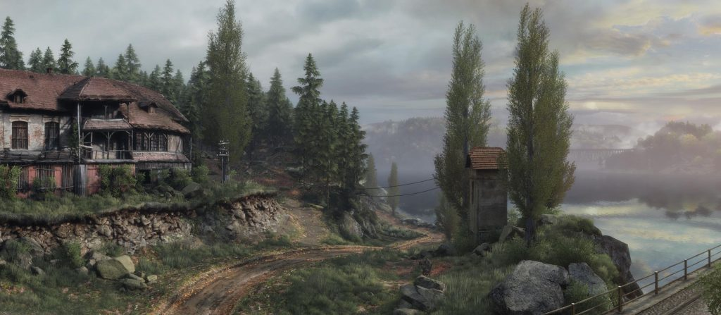 Vanishing of Ethan Carter - Unreal Engine
