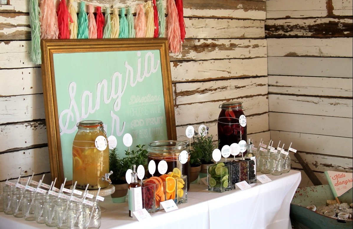 throw an engagement party on a small budget