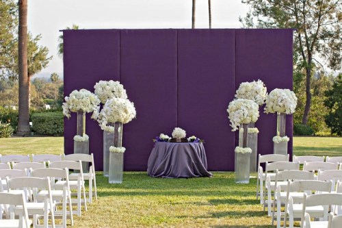 bright background with simple flowers weddingfor1000.com