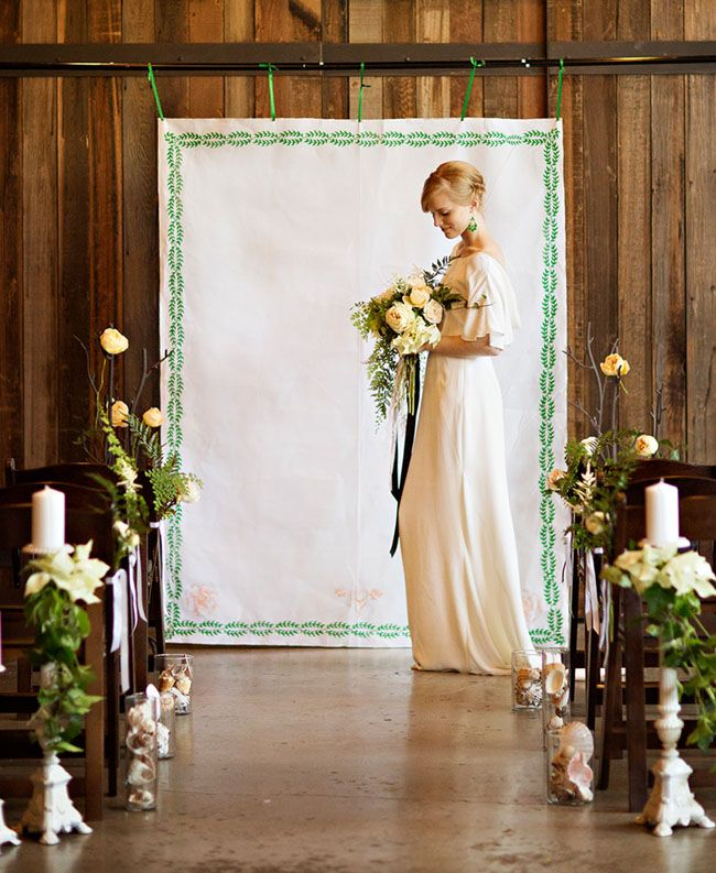 Wedding Altar Flowers Price: 37 Gorgeous Ideas For Ceremony Backdrops