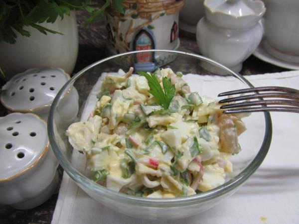 Салат из фасоли с крабовыми палочками | Кулинарные рецепты ...