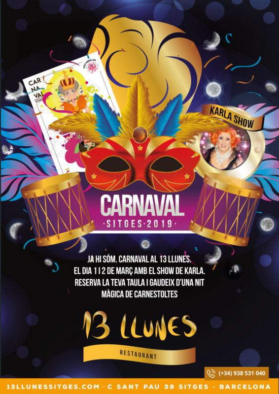 Este Carnaval te esperamos junto a Karla Show en el 13 Llunes