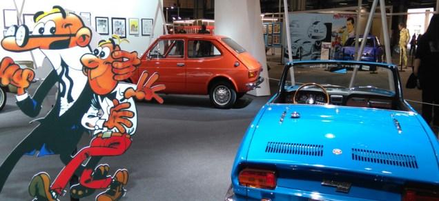 Los coches de Mortadelo y Filemón