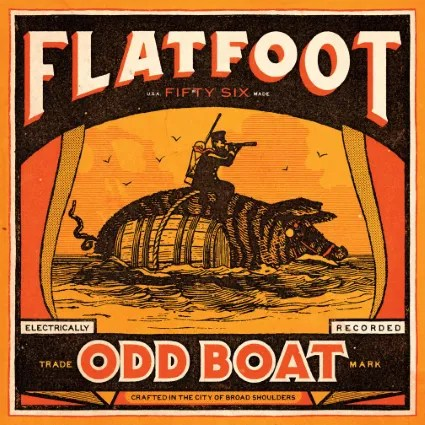 Flatfoot 56 Releases Their 7th Studio Album, Odd Boat