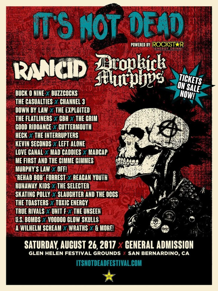 Me First and The Gimme Gimmes Added to IT'S NOT DEAD 2 Lineup!