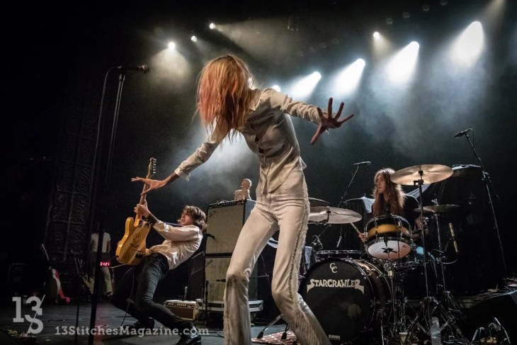 Starcrawler Deliver Shock & Awe Performance Art