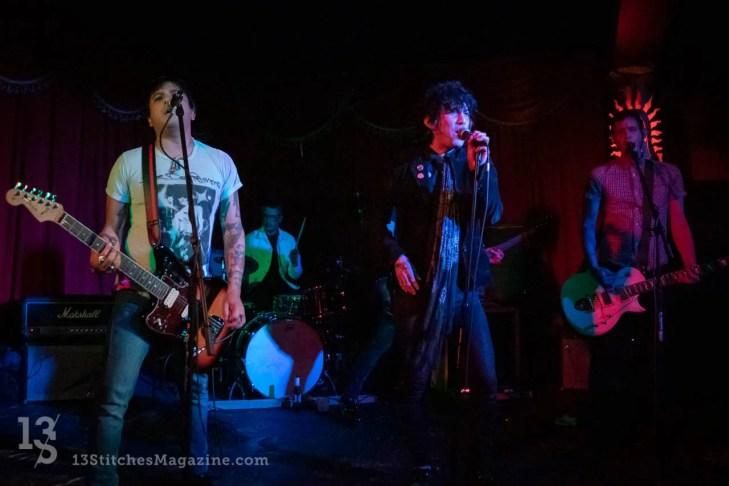 The Fiends at Alex's Bar in Long Beach, CA