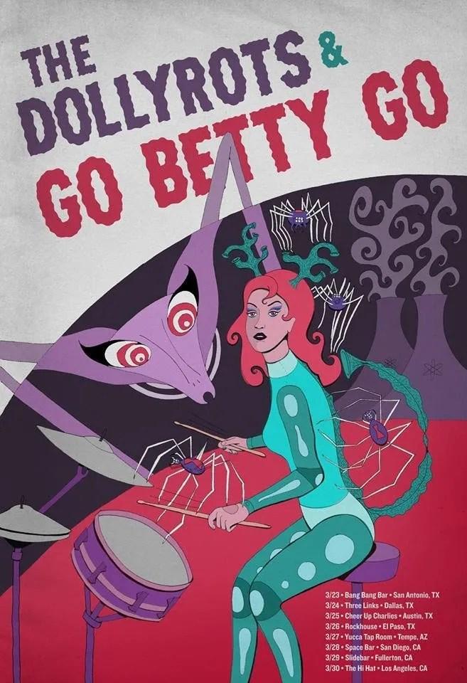 Go Betty Go Tour