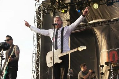John Feldmann of Goldfinger