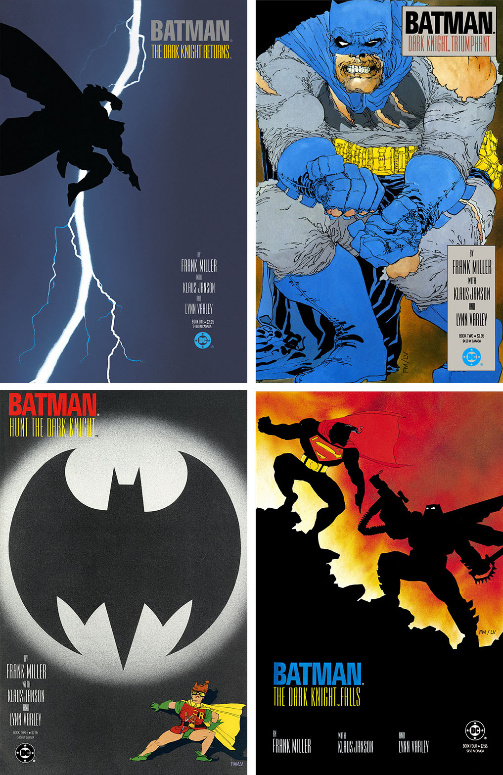Image result for the dark knight returns covers