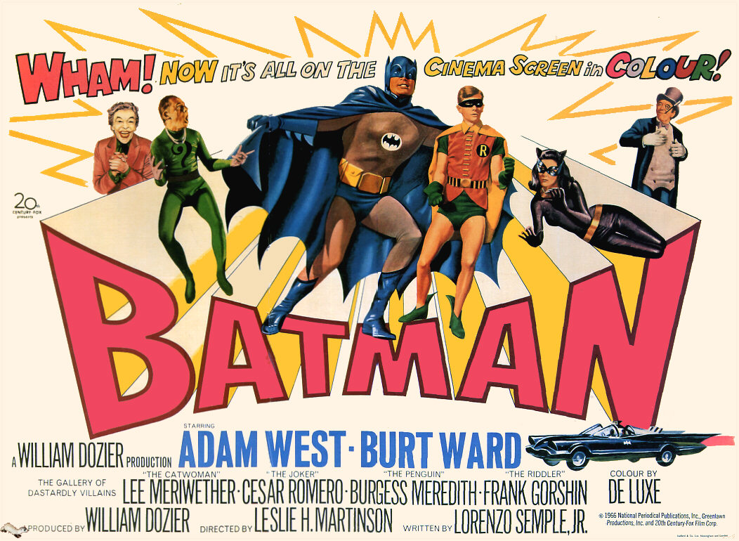 Image result for BATMAN 66 MOVIE