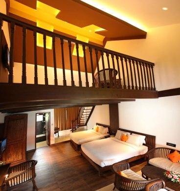 Lovely Room with a mezzanine floor