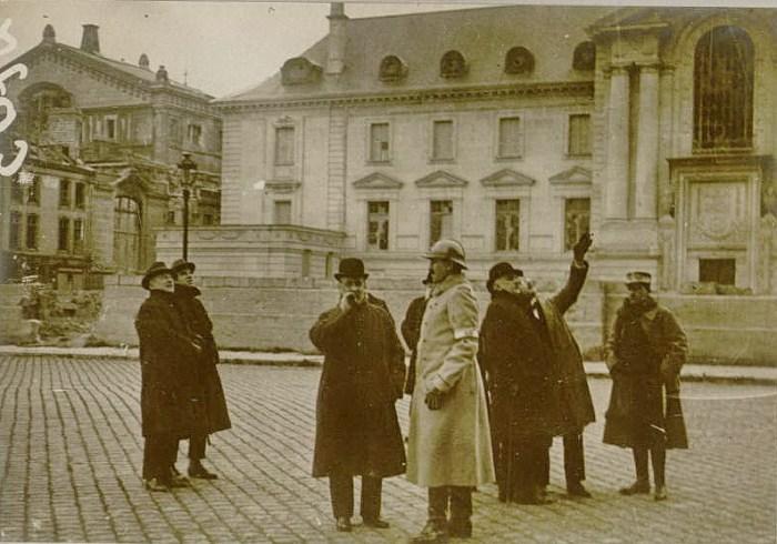 Le 19 décembre 1916 : mission de diplomates américains