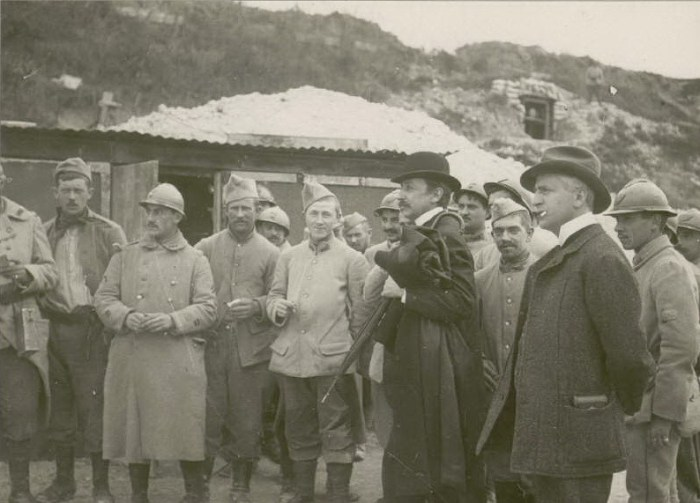 Le 21 septembre 1916 : mission norvégienne, Monsieur Castberg, président du Sorting norvégien et Maurice Barrés