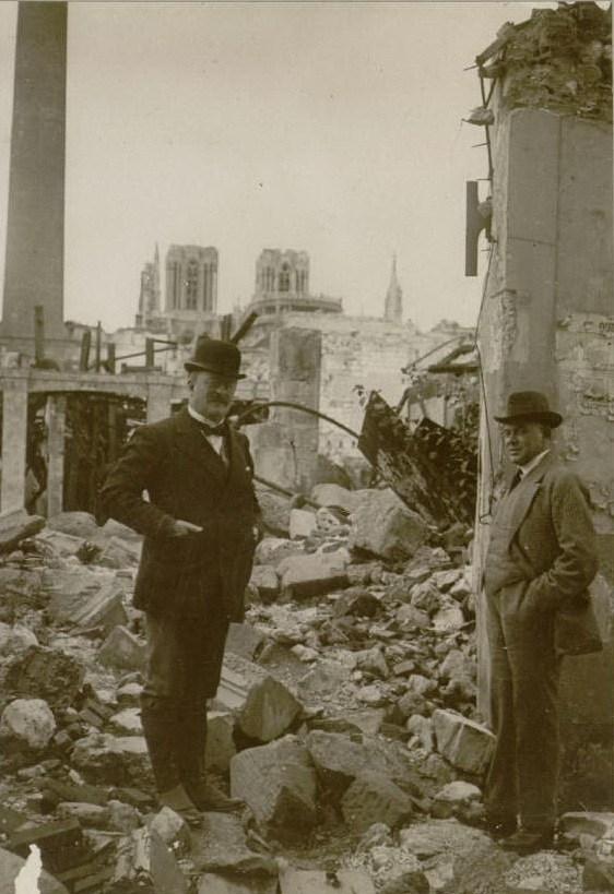 Le 25 août 1916 : le Prince de Monaco