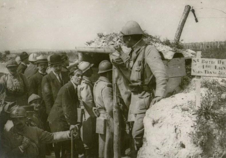 Le 21 juillet 1916 : mission roumaine