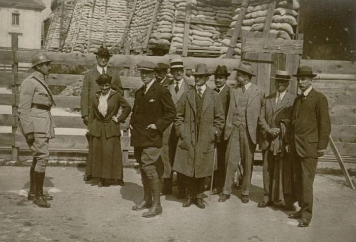 Le 9 juin 1916 : mission américaine