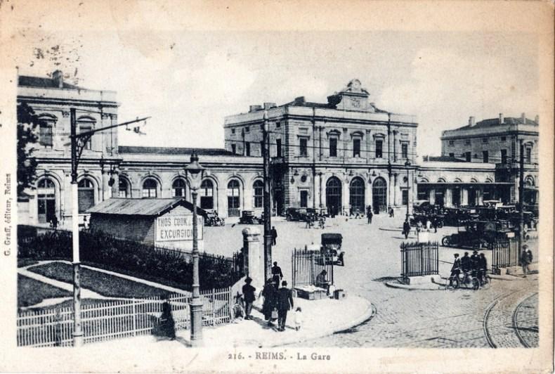La gare de Reims