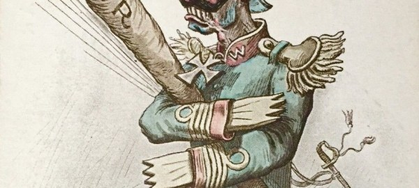 Caricature du Kaiser
