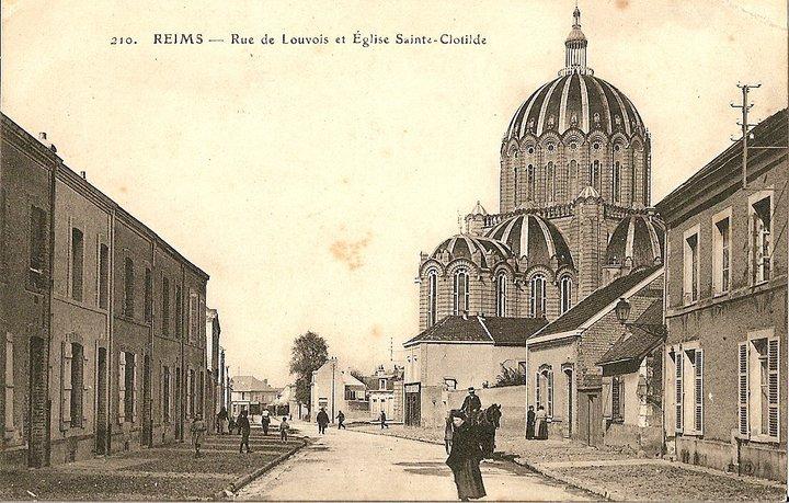 Le quartier Sainte-Anne et la poste de la rue Cérès