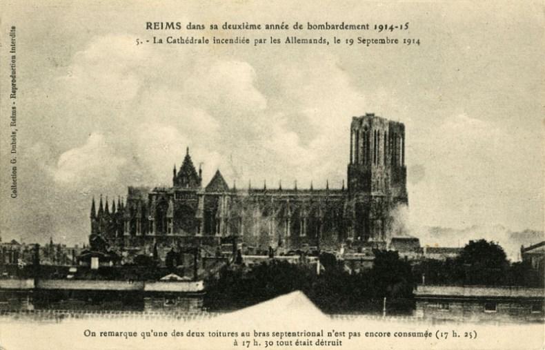 Correspondance 14-18 - La Cathédrale à 17h25...