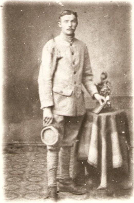 BAUCHET Joseph (1896-1983) Soldat au 162e Régiment d'Infanterie