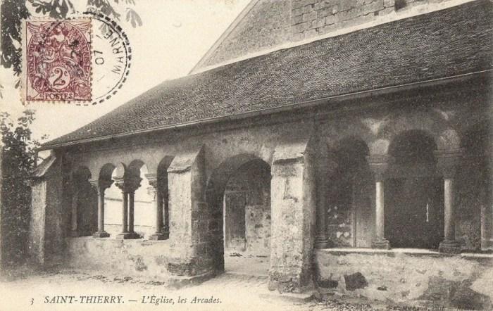 Saint-Thierry en 1917