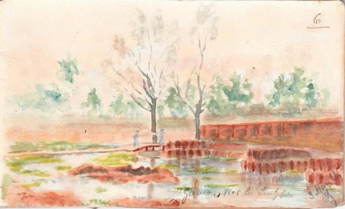 3 mars 1916 - Gabio sur la Suippes