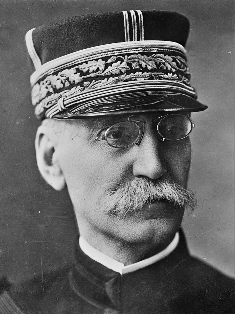 French general Joseph Gallieni (1849-1916) George Grantham Bain Collection (Library of Congress)