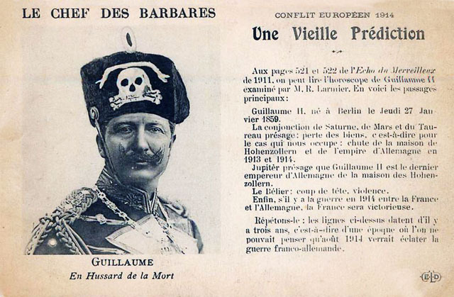 Reims 14-18... Ces hideux barbares...
