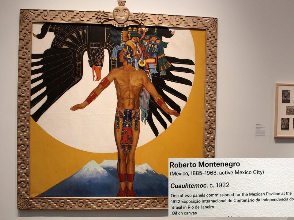 Cuauhtemoc, by Roberto Montenegro