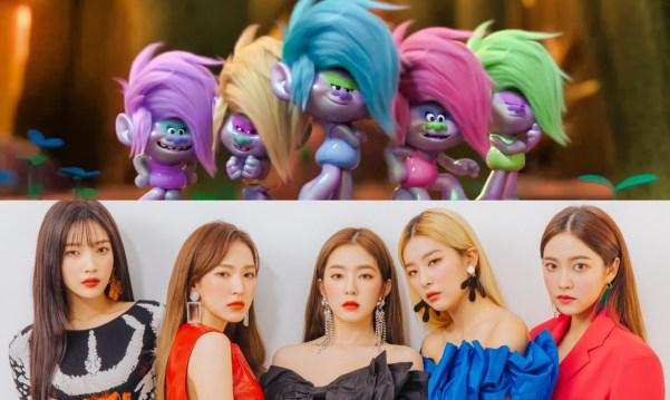 """Red Velvet Debut as Dreamwork's Animated Character in """"Trolls"""" + ..."""