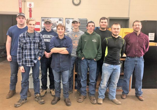 CCCTC Precision Machine Students Listen to Presentation by Vision Quality Components