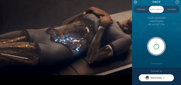 ivacy-netflix-ex-machina