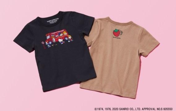 可愛らしさとお洒落さが調和した「グローバルワーク」のキッズTシャツ